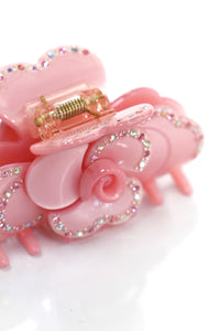 Rose Pink Hair Clip-50m London