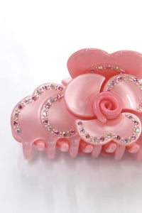 Rose Pink Hair Clip