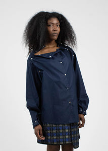 Multi Wear Blouse in Navy Blue-50m London