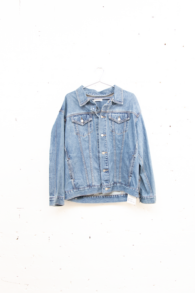 Folding Denim Jacket