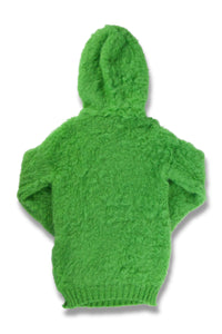Fluffy Brushed Mohair Hoodie