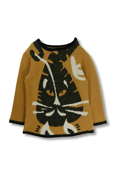 Chesire Cat Alpaca Jacquard Jumper