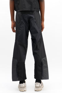 Patchwork Cargo Trousers-50m London