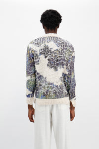 Cracked Cow Print Jumper-50m London