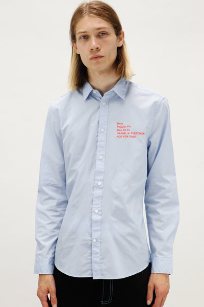 Not For Sale Shirt Powder Blue