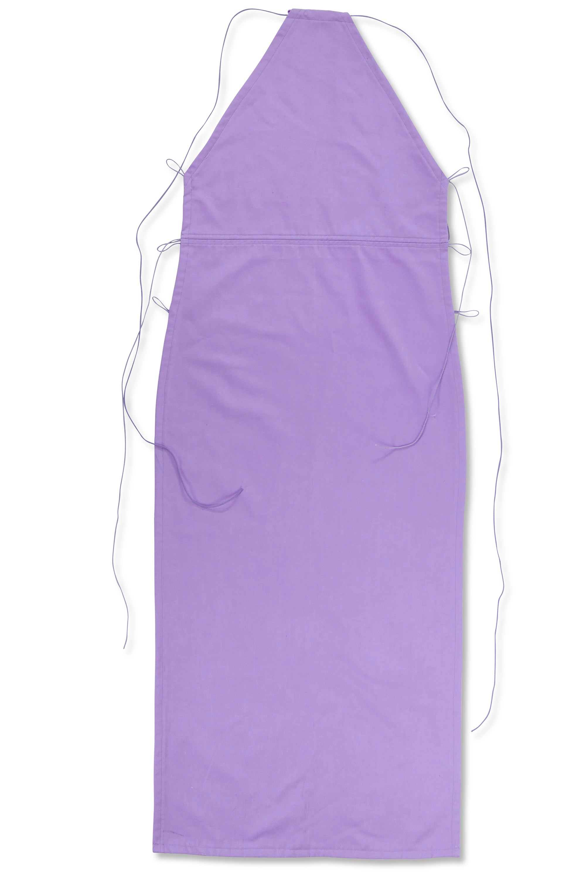 Single Sided Dress Lilac Cotton