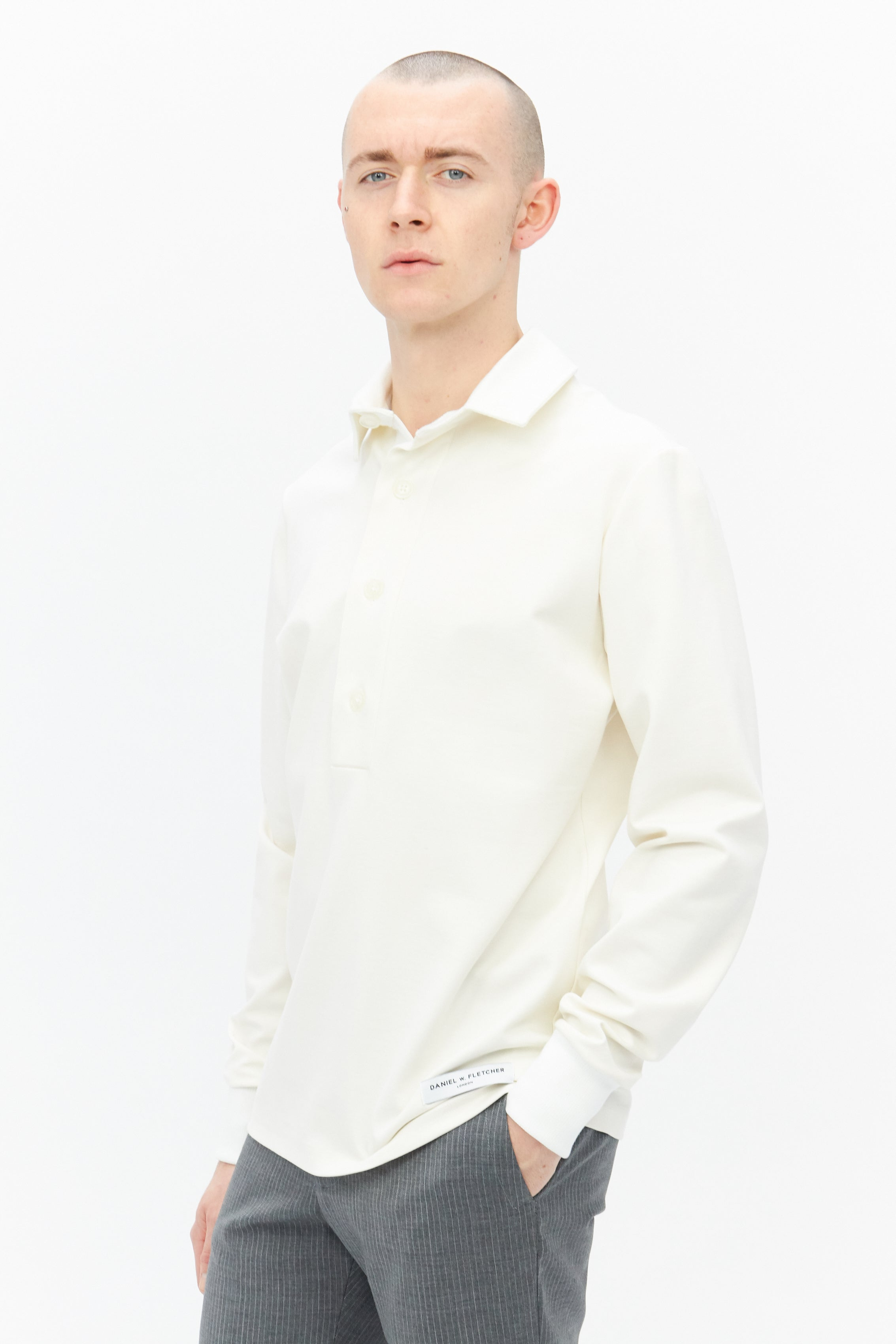 Rugby Shirt White