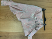Pink Brocade Wrap Skirt-50m London