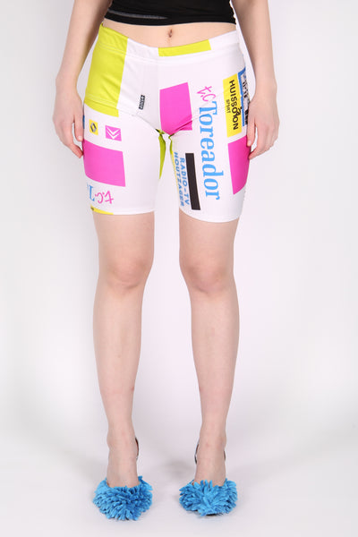 Up-Cycled Cycling Shorts