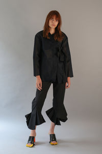 Geometric Frill Trousers-50m London