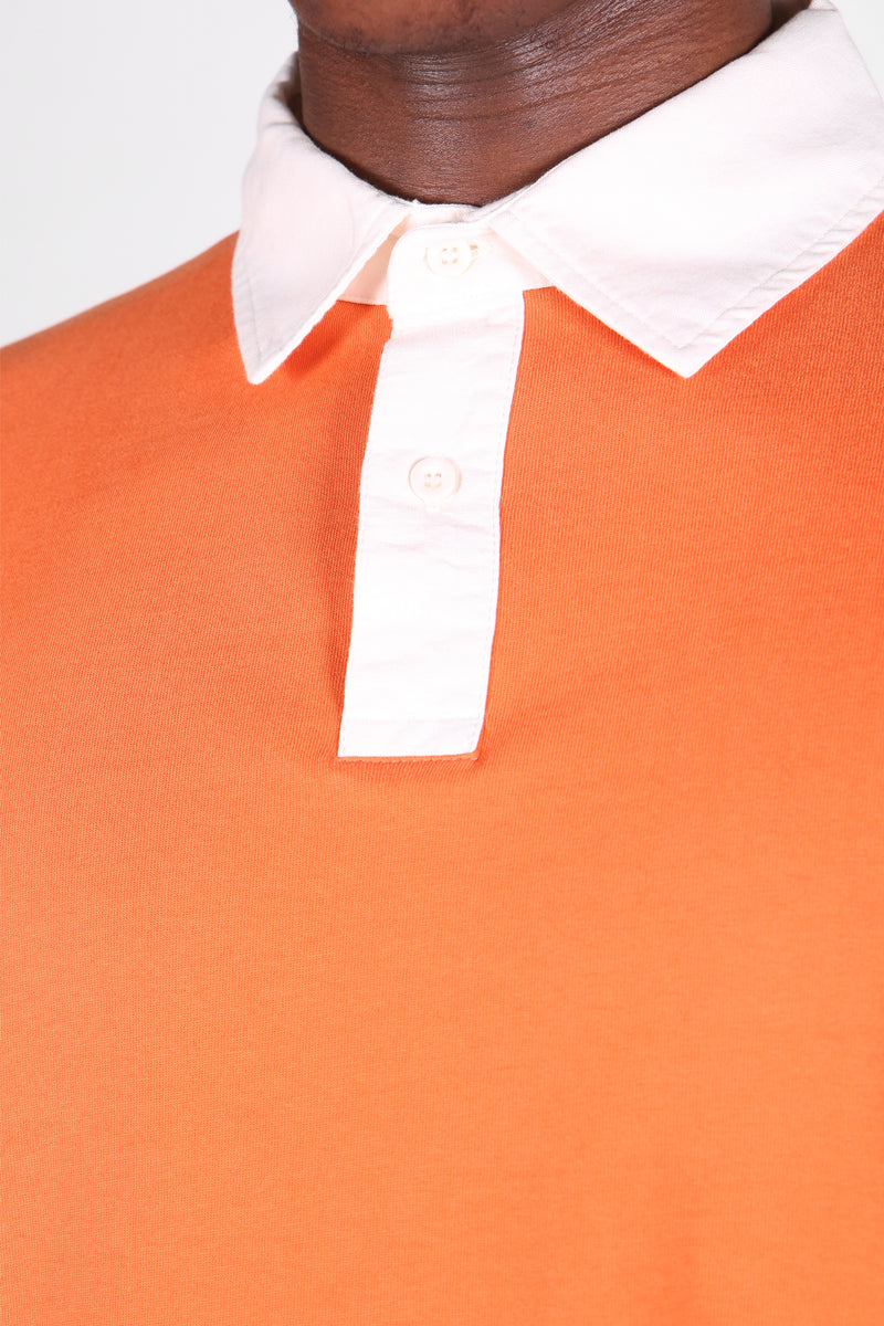Rugby Shirt Orange & Brown