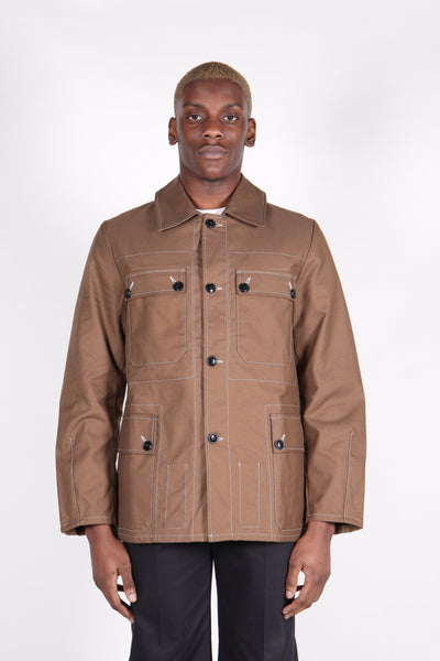 Ranger Parka Bark Brown-50m London