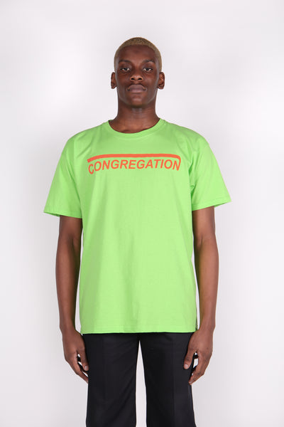 Congregation Green T-Shirt-50m London