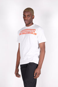 Congregation White T-Shirt-50m London
