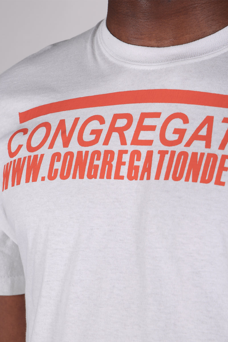 Congregation White T-Shirt