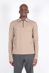 Half Zip Base Layer Ranger Tan-50m London