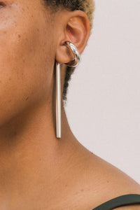 Marie Ear Cuff w Movable Bar-50m London