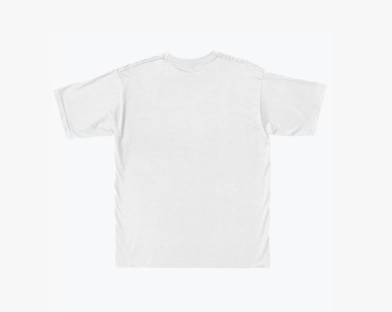 Square T-Shirt in Sky and Grey