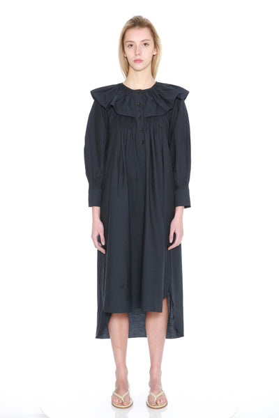 Textured 3/4 Sleeve Dress-50m London