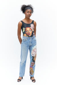 Hand Painted Jeans