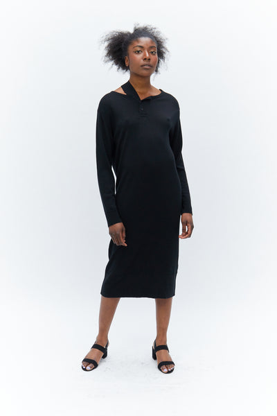 Falling Shoulder knit Dress-50m London