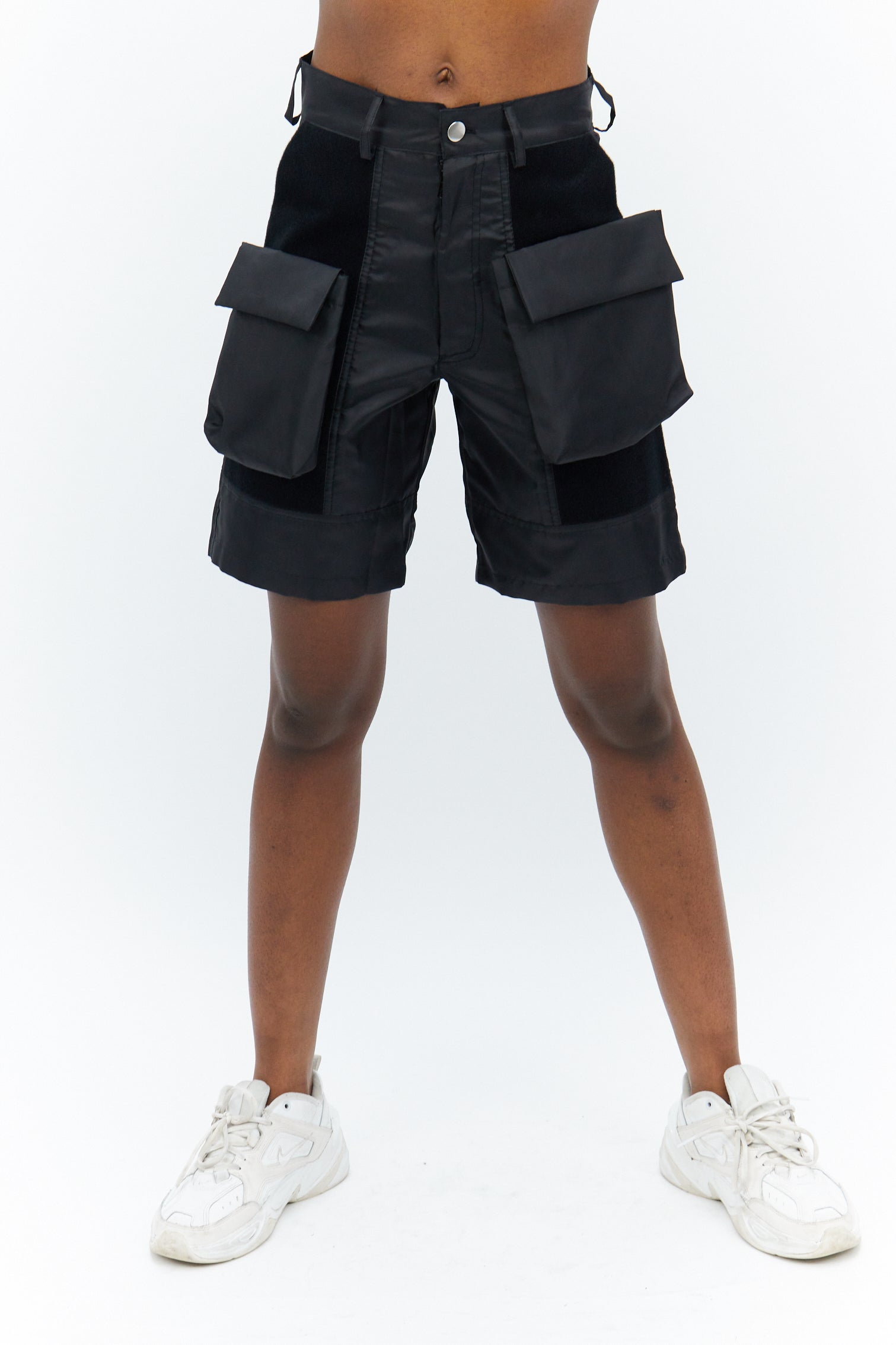 Velcro Removable Pockets Shorts