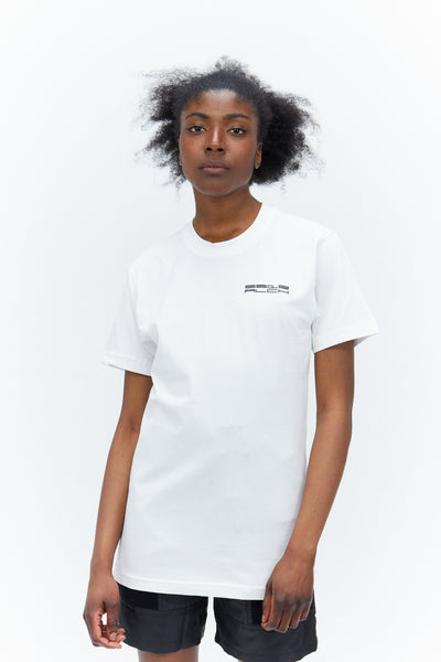 T-shirt With Logo White
