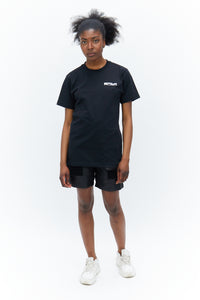 T-shirt With Logo Black