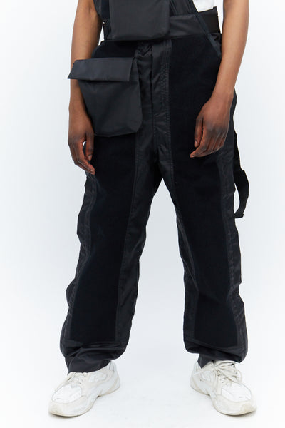 Velcro Panelled Dungarees