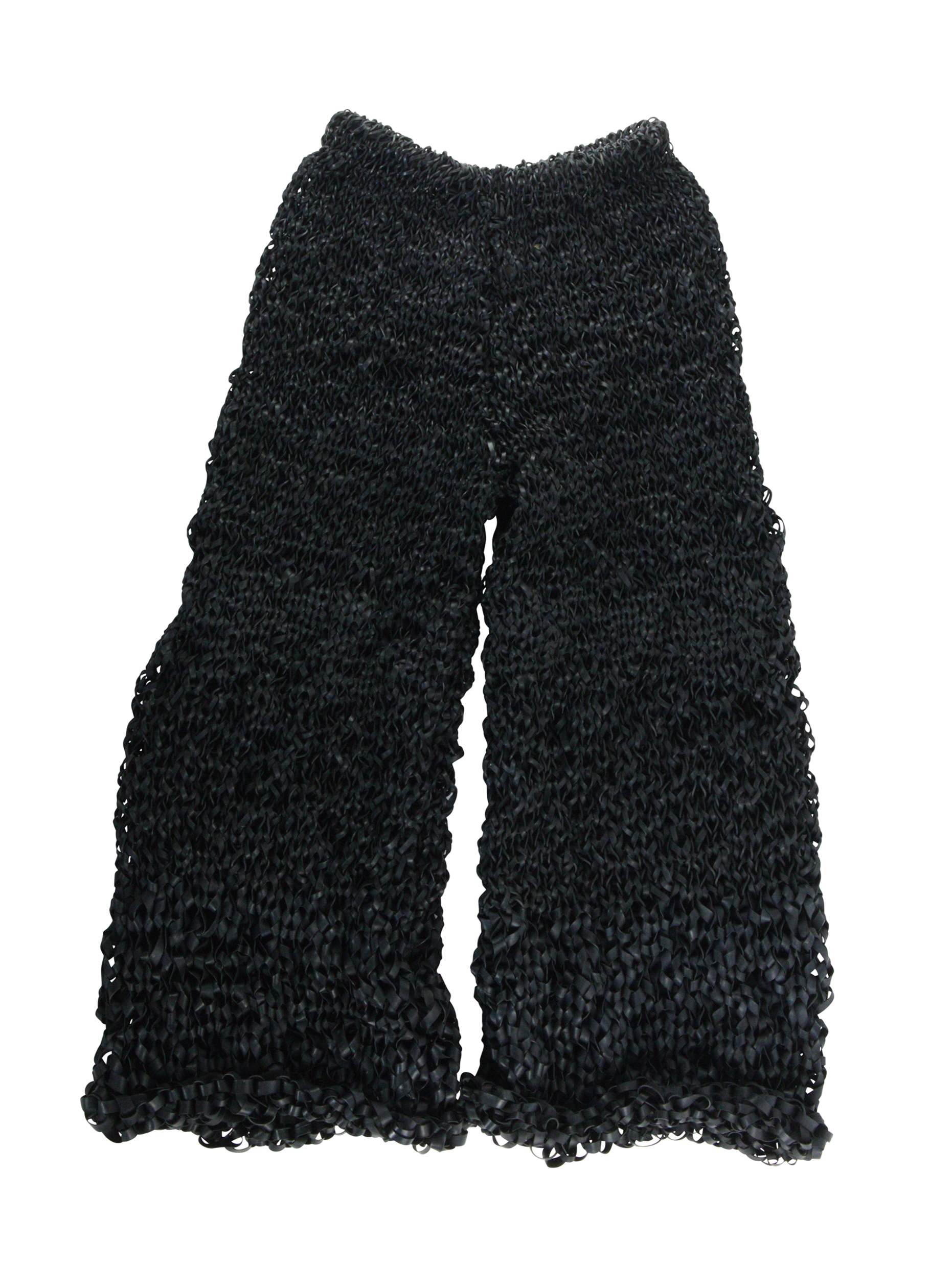 Handmade Crochet Rubber Trousers