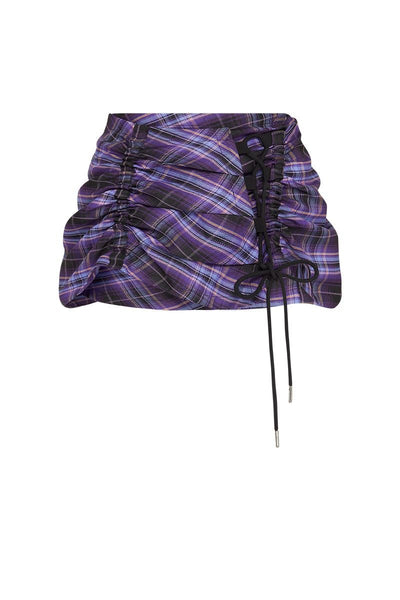 RUCHED MINI [DEEP PURPLE]