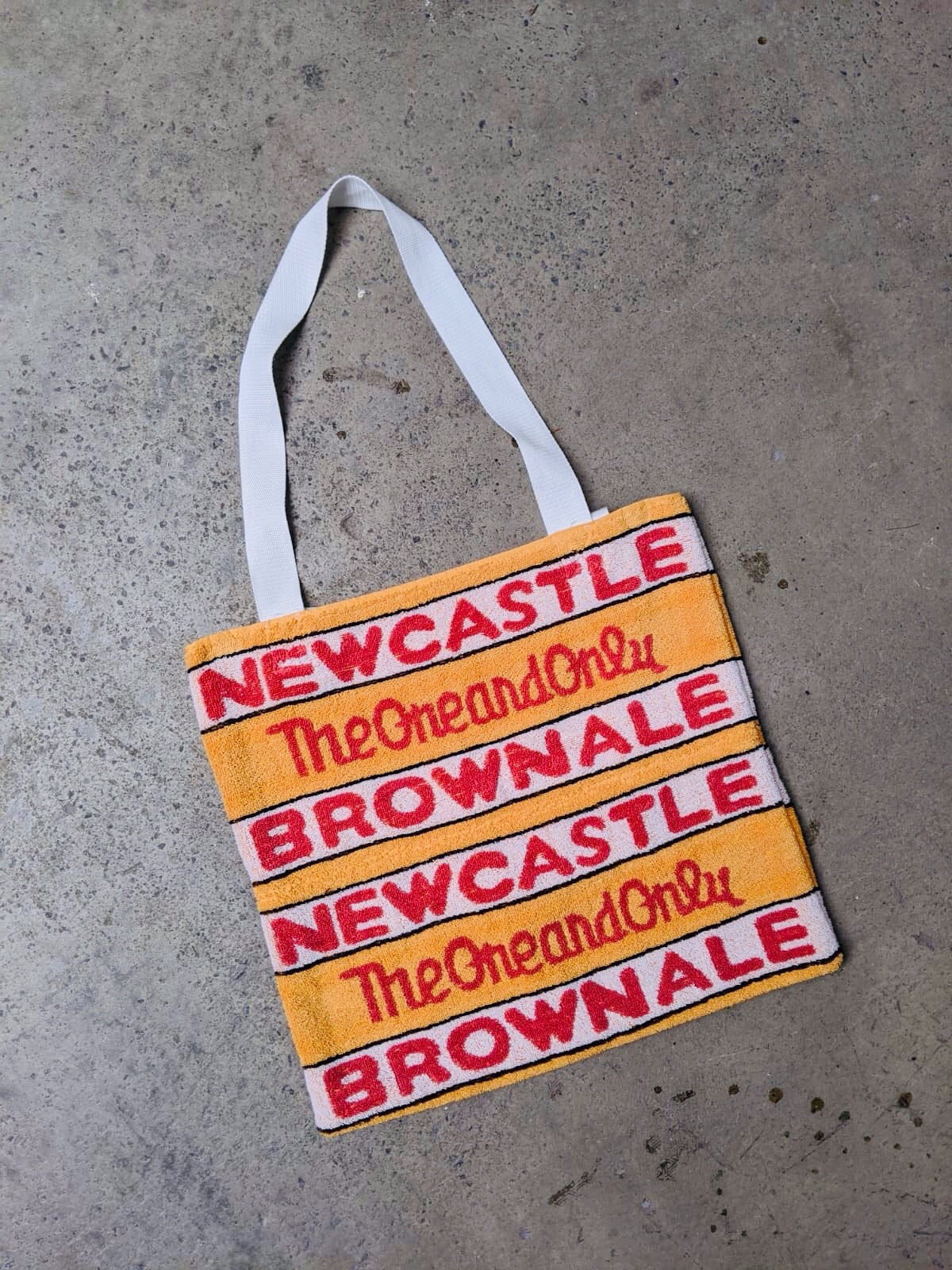 Newcastle Beer Towel Bag