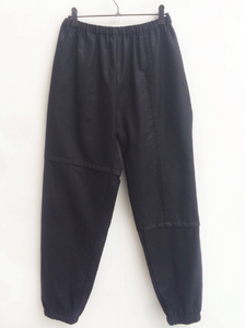 Patched Joggers Black-50m London