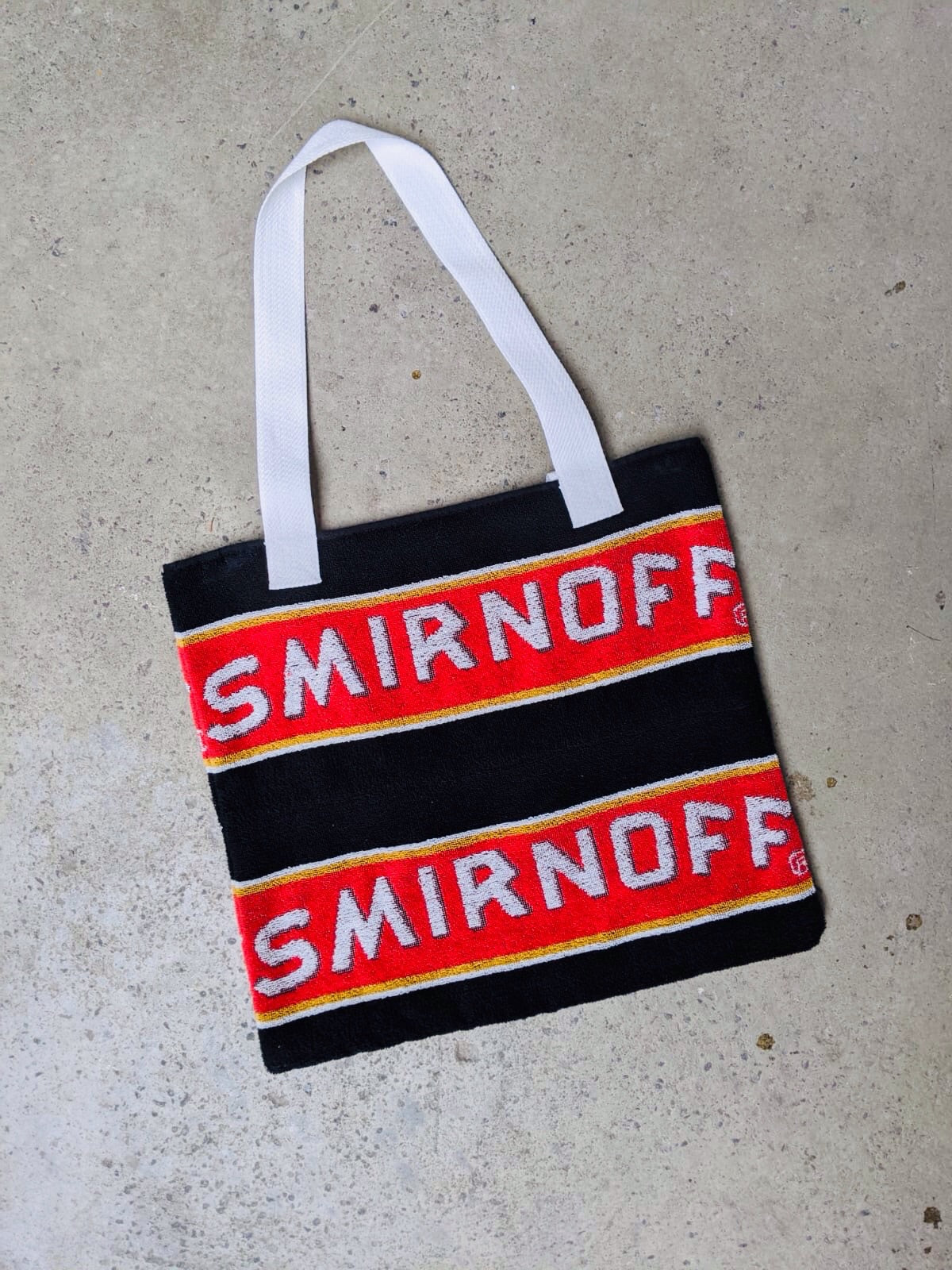 Smirnoff Beer Towel Bag