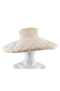 Pillow Hat Beige Corduroy