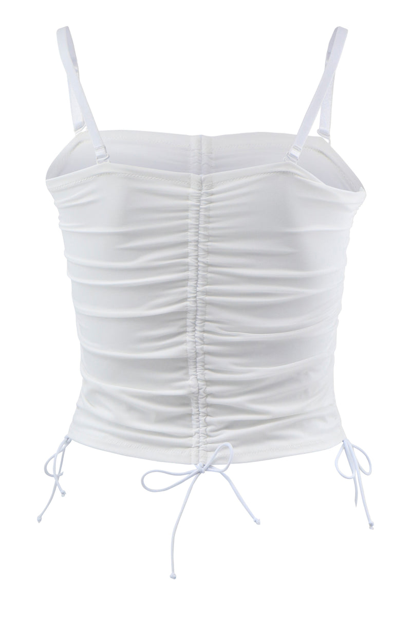 Ruched Lingerie Top