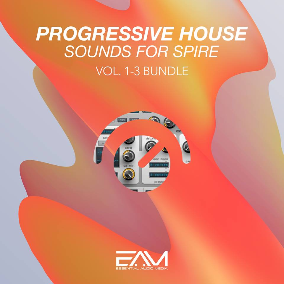 Progressive House Sounds For Spire Vol.1-3 Bundle