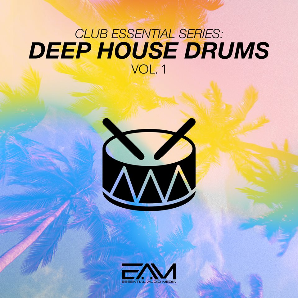 Club Essential Series - Deep House Drums Vol.1