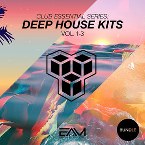 Club Essential Series - Deep House Kits Vol.1-3 Bundle
