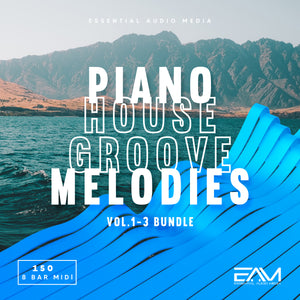 Piano House Groove Melodies Vol.1-3 Bundle