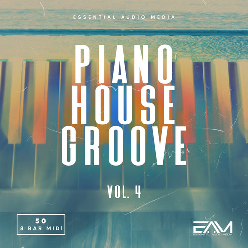 Piano House Groove Melodies Vol.4