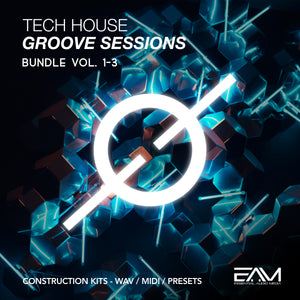 Tech House Groove Sessions Vol.1-3 Bundle