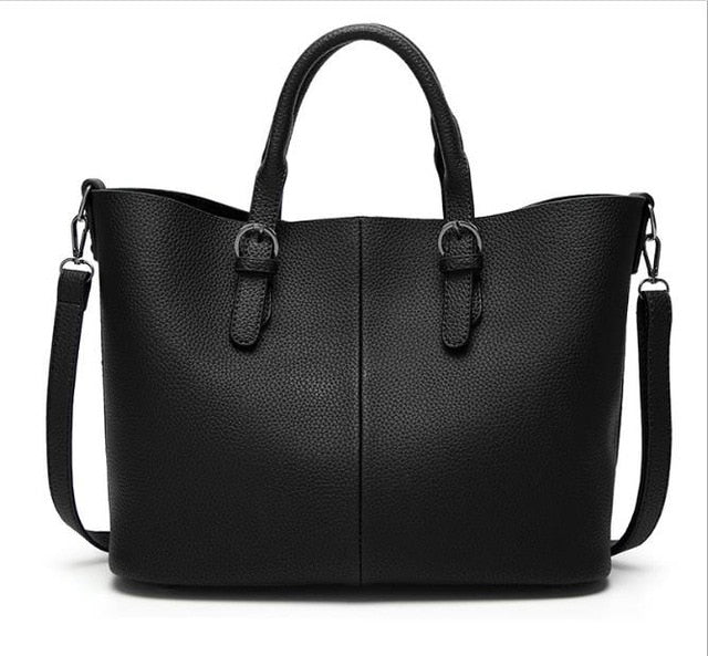 2019 women handbag large bucket shoulder messenger bag female high quality artificial leather totes fashion ladies top-handle