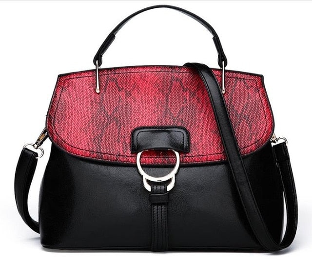 2019 women handbag female artificial leather top-handle tote bag ladies shoulder crossbody bag large messenger bag with rivets