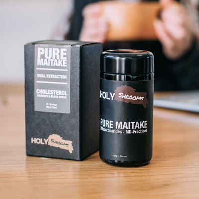 Pure Maitake extracted powder - Holy Shrooms - Medicinal Mushrooms