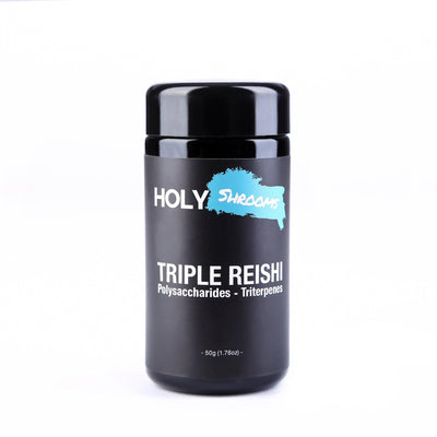 Triple Reishi extracted powder - Holy Shrooms - Medicinal Mushrooms