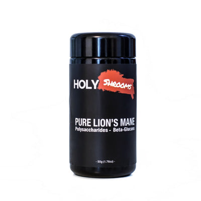 Pure Lion's Mane extracted powder - Holy Shrooms - Medicinal Mushrooms