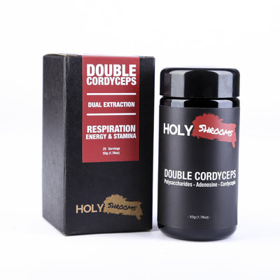 Double Cordyceps  extracted powder - Holy Shrooms - Medicinal Mushrooms