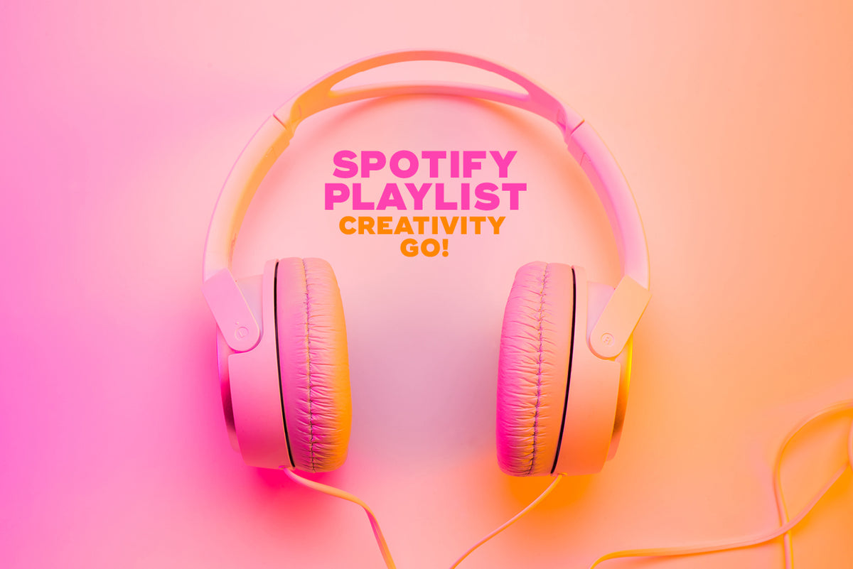 Creative inspiration Spotify playlist for design and marketing