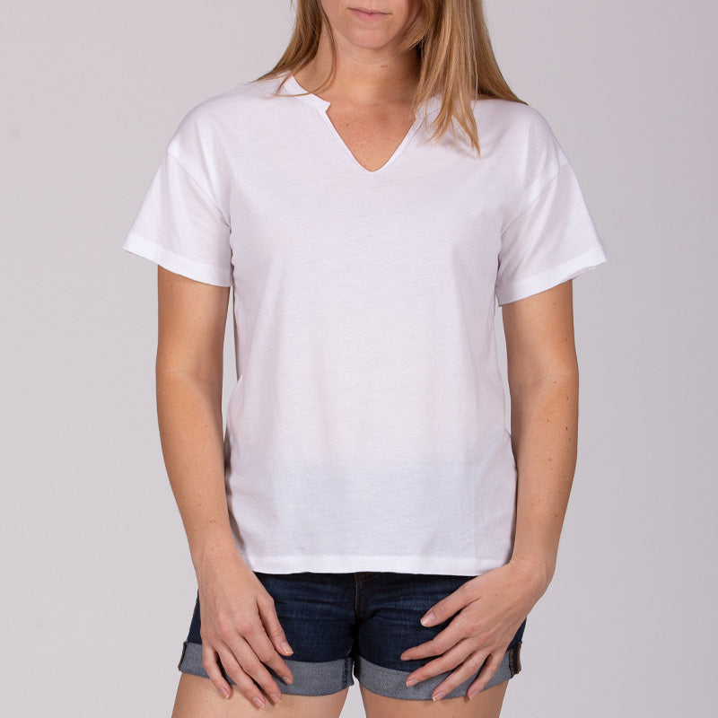 Women's Customizable Lightweight V-Neck Tee